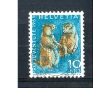 1965 - LOTTO/SVI760U - SVIZZERA - 10+10c. PRO JUVENTUTE - USATO