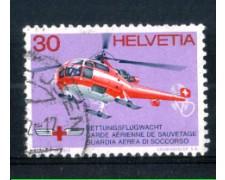 1972 - LOTTO/SVI907U - SVIZZERA - 30c. GUARDIA AEREA - USATO