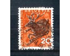1965 - LOTTO/SVI761U - SVIZZERA - 20+10c. PRO JUVENTUTE - USATO