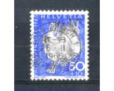 1965 - LOTTO/SVI763U - SVIZZERA - 50+10c. PRO JUVENTUTE - USATO