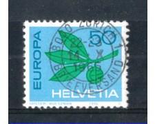 1965 - LOTTO/SVI758U - SVIZZERA - 50c. EUROPA - USATO