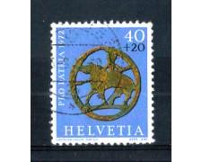 1972 - LOTTO/SVI904U - SVIZZERA -  40+20c. PRO PATRIA - USATO
