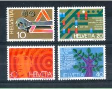 1972 - LOTTO/SVI898CPN - SVIZZERA - PROPAGANDA 4v. - NUOVI