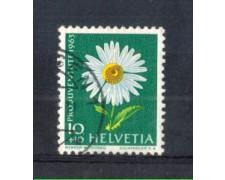 1963 - LOTTO/SVI722AU - SVIZZERA - 10+10c. PRO JUVENTUTE - USATO