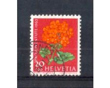 1963 - LOTTO/SVI723AU - SVIZZERA - 20+10c. PRO JUVENTUTE - USATO
