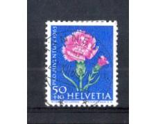 1963 - LOTTO/SVI725U - SVIZZERA - 50+10c. PRO JUVENTUTE - USATO