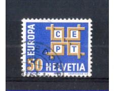 1963 - LOTTO/SVI716U - SVIZZERA - 50c. EUROPA - USATO