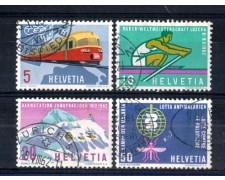 1962 - LOTTO/SVI692CPU - SVIZZERA - PROPAGANDA 4v. - USATI
