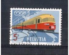 1962 - LOTTO/SVI689U - SVIZZERA - 5c. TRANS EUROPA EXPRESS - USATO