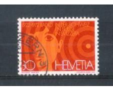 1972 - LOTTO/SVI897U - SVIZZERA - 30c. RADIO SVIZZERA - USATO