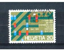 1972 - LOTTO/SVI896U - SVIZZERA - 20c. FERROVIE FEDERALI - USATO