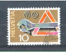 1972 - LOTTO/SVI895U - SVIZZERA - 20c. SOCCORSO STRADALE - USATO