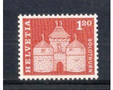 1960 - LOTTO/SVI658N - SVIZZERA - 1.20 Fr. PORTA A SOLETTA - NUOVO