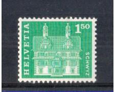 1960 - LOTTO/SVI659N - SVIZZERA - 1.50 Fr. CASA A SCHWYZ - NUOVO