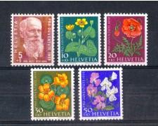 1959 - LOTTO/SVI638CPN - SVIZZERA - PRO JUVENTUTE 5v. - NUOVI