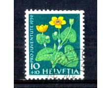 1959 - LOTTO/SVI635U - SVIZZERA - 10+10c. PRO JUVENTUTE - USATO