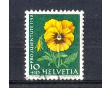 1958 - LOTTO/SVI617U - SVIZZERA - 10+10c. PRO JUVENTUTE - USATO