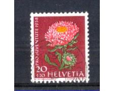 1958 - LOTTO/SVI618U - SVIZZERA - 20+10c. PRO JUVENTUTE - USATO