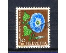 1958 - LOTTO/SVI619U - SVIZZERA - 30+10c. PRO JUVENTUTE - USATO