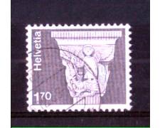 1973 - LOTTO/SVI919U - SVIZZERA - 1,70 Fr. CAPITELLO ROMANO - USATO