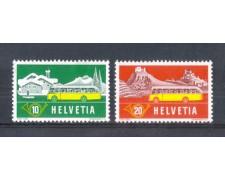 1953 - LOTTO/SVI538CPN - SVIZZERA - CORRIERE POSTALI 2v. - NUOVI