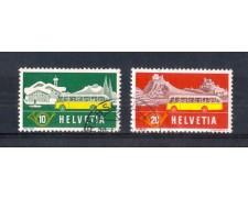 1953 - LOTTO/SVI538CPU - SVIZZERA - CORRIERE POSTALI 2v. - USATI