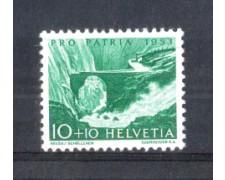 1953 - LOTTO/SVI532N - SVIZZERA - 10+10c. PRO PATRIA - NUOVO
