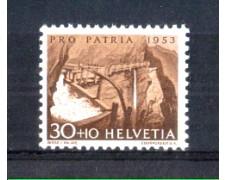 1953 - LOTTO/SVI534N - SVIZZERA - 30+10c. PRO PATRIA - NUOVO