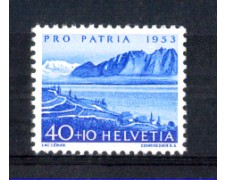 1953 - LOTTO/SVI535N - SVIZZERA - 40+10c. PRO PATRIA - NUOVO