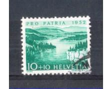 1952 - LOTTO/SVI522U - SVIZZERA - 10+10c. PRO PATRIA - USATO