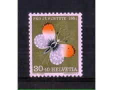 1951 - LOTTO/SVI515N - SVIZZERA - 30+10c. PRO JUVENTUTE - NUOVO