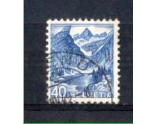 1948 - LOTTO/SVI466U - SVIZZERA - 40c. VEDUTE - USATO
