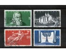 1948 - LOTTO/SVI456CPU - SVIZZERA - TRATTATO WESTFALIA 3v. - USATI