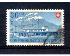 1947 - LOTTO/SVI440U - SVIZZERA - 30+10c. PRO PATRIA -  USATO