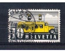 1946 - LOTTO/SVI432U - SVIZZERA - 10c. CORRIERA POSTALE - USATO
