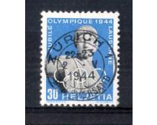 1944 - LOTTO/SVI394U - SVIZZERA - 30c. COMITATO OLIMPICO - USATO