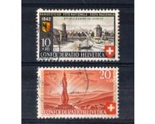 1942 - LOTTO/SVI379CPU - SVIZZERA - PRO PATRIA 2v. - USATI