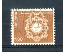1973 - LOTTO/SVI918U - SVIZZERA - 1,30 Fr. INSEGNA DI ALBERGO - USATO