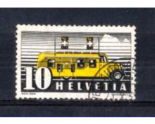 1937 - LOTTO/SVI302U - SVIZZERA - UFFICIO POSTALE MOBILE - USATO