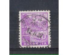 1934 - LOTTO/SVI273U - SVIZZERA - 10c. VEDUTE - USATO