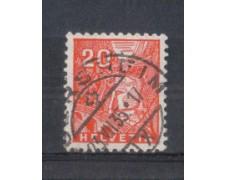 1934 - LOTTO/SVI275U - SVIZZERA - 20c. VEDUTE - USATO