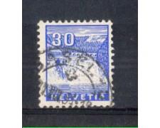 1934 - LOTTO/SVI277U - SVIZZERA - 30c. VEDUTE - USATO