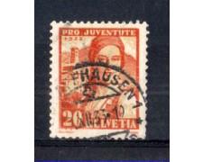 1933 - LOTTO/SVI269U - SVIZZERA - 20+5c. PRO JUVENTUTE - USATO