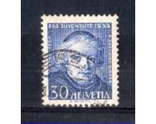 1933 - LOTTO/SVI270U - SVIZZERA - 30+10c. PRO JUVENTUTE - USATO