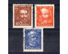 1932 - LOTTO/SVI262CPU - TRAFORO DEL S.GOTTARDO  3v. - USATI