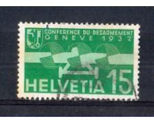 1932 - LOTTO/SVIA16U - SVIZZERA - 15c. POSTA AEREA - USATO