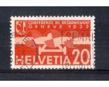 1932 - LOTTO/SVIA17U - SVIZZERA - 20c. POSTA AEREA - USATO