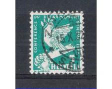 1932 - LOTTO/SVI254U - SVIZZERA - 5c. CONFERENZA DISARMO - USATO