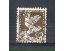 1932 - LOTTO/SVI258U - SVIZZERA - 60c. CONFERENZA DISARMO - USATO