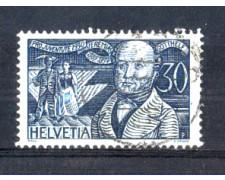 1930 - LOTTO/SVI249U - SVIZZERA - 30+10c. PRO JUVENTUTE - USATO